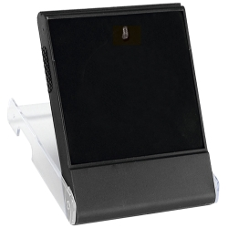Medal Box Plastic L - Clear with Flat pad and hook