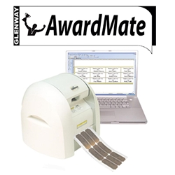 Awardmate 15m Brushed Silver Roll