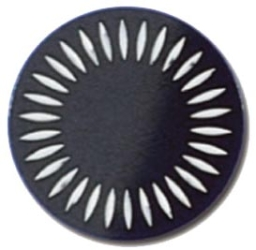 Diamond Milled Black Disk