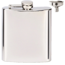 Vision Mirror Polish 6oz Flask with Funnel Set
