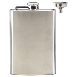 Vision Satin Polish 8oz Flask & Funnel Set